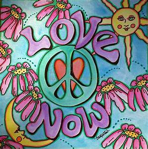 """Love Now You Finish It"" Singleton Hippie Art - a photo on ..."