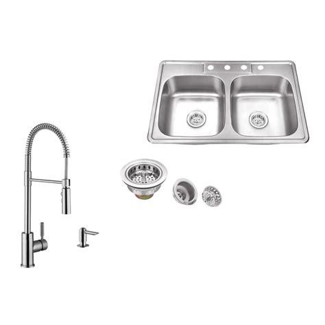 drop in stainless steel kitchen sink ipt sink company drop in 33 in 4 stainless steel 9625