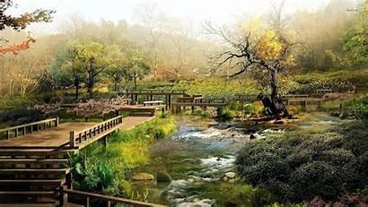 Japanese Garden Gardens Wallpapers