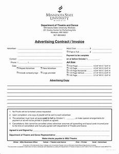 9 advertising invoice templates pdf With marketing invoice example
