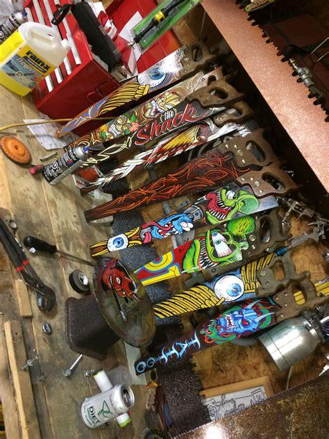 pin  richardarreguin  rat fink garage art pinstripe