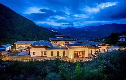 Bhutan Tourism Hotels Luxury Hotel Sanctuary Spirit