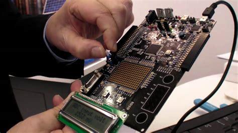 Cypress PSoc5 Cortex-M3 at Embedded World 2011 - YouTube