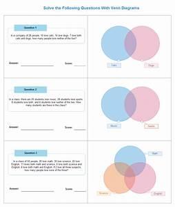Venn Math Worksheet
