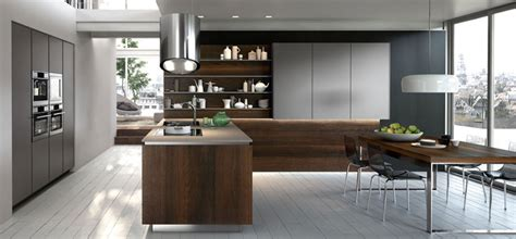 ideas  incorporate high  open shelving  modern kitchens