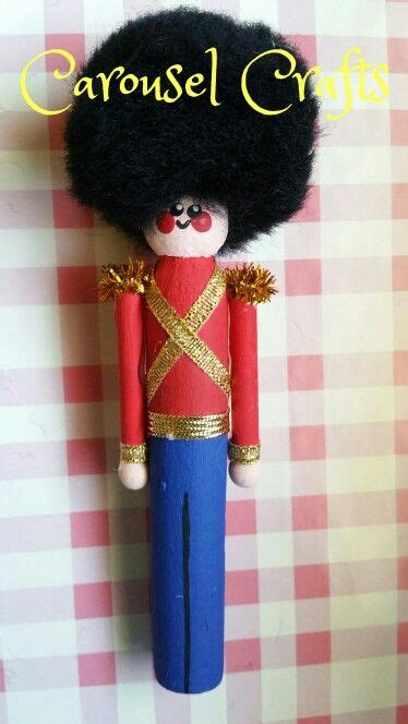 toy soldier craft for kids clothespin ornament soldier carousel crafts
