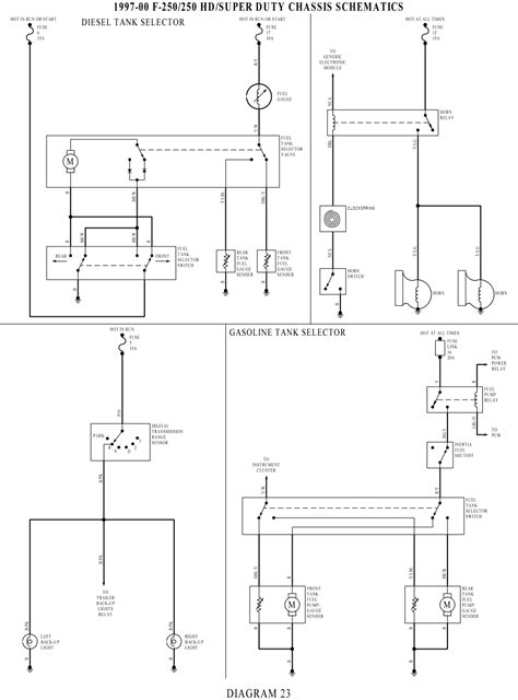 Ford F 350 Fuel Tank Diagram by Starting Wiring Diagram For 2000 F250 Fixya