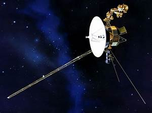 NASA Voyager Spacecraft Close to Touching Face of God ...