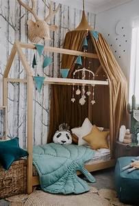 Tete De Lit Cabane : 1001 id es pour une chambre avec lit montessori ambiances ~ Melissatoandfro.com Idées de Décoration