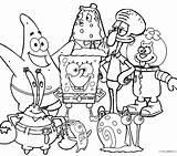 Coloring Nickelodeon Pages Christmas Bob Getdrawings Spongebob Printable Getcolorings sketch template