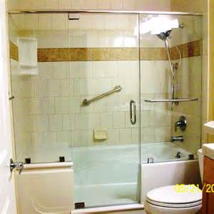 Walk-In Tub with Shower