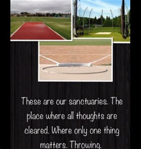Throwing Quotes Track And Field