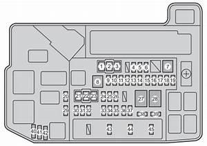 Toyota Prius - Fuse Box Diagram  Europe Version