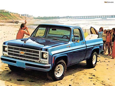 1973 Chevrolet Sport by 1979 Chevrolet C10 Scottsdale Sport Squarebodies