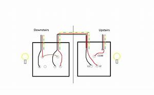 wiring two way light switch diagram wellreadme With two way light