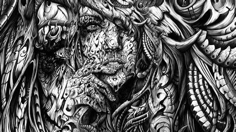 black  white psychedelic wallpaper supportive guru