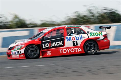 matias rossi toyota team argentina argentinian super tc photo