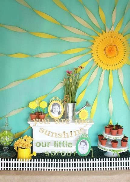 sunshine birthday party ideas pink lover
