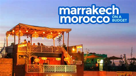 marrakech travel guide budget itinerary