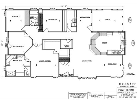 Wide Mobile Home Floor Plans by Bedroom Wide Mobile Home Floor Plans House Also