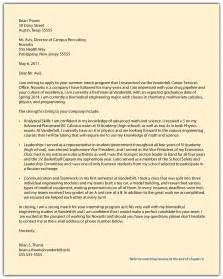 cover letter for internship architecture position - Architecture Internship Cover Letter