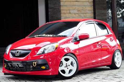 Modifikasi Honda Brio by 50 Gambar Modifikasi Honda Brio Keren Terbaru Modif Drag