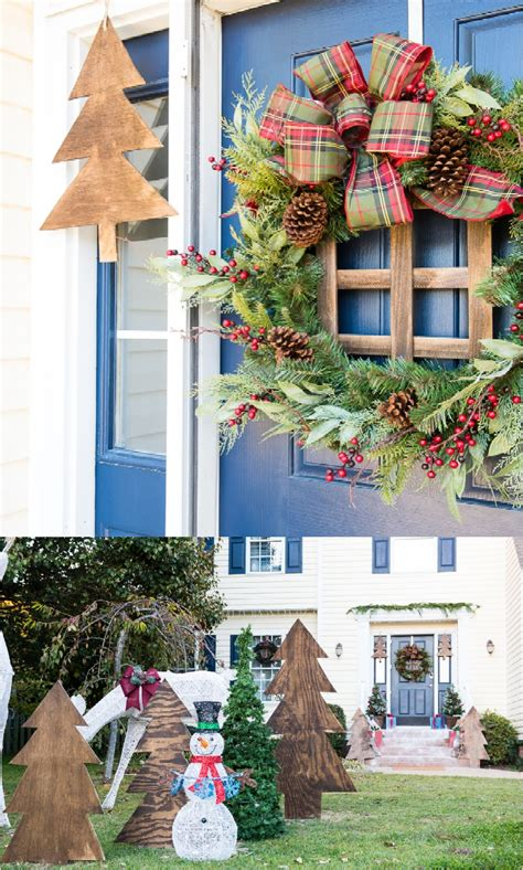 outdoor decorating 24 festive ideas for outdoor decorations ritely