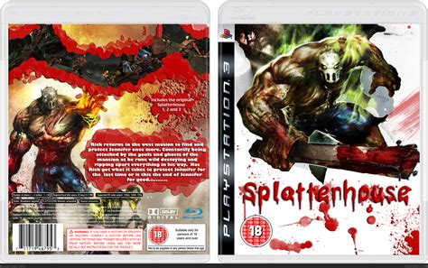 Splatterhouse Playstation 3 Box Art Cover By Bigwillystyle