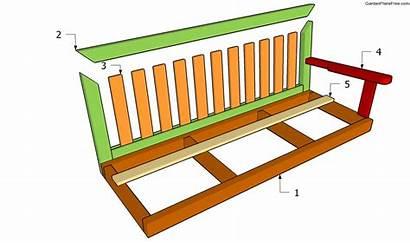 Swing Bench Plans Garden Building Pdf Woodworking