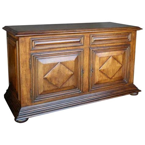 cabinet doors and drawers for sale dos gallos custom walnut wood bun foot cabinet with doors