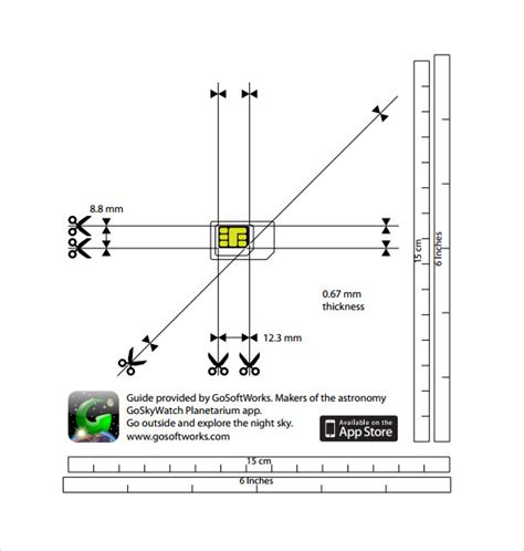 Micro Sim To Nano Sim Template 10 Micro Sim Templates To Sle Templates