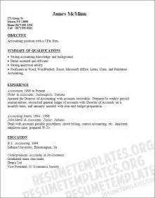 accounting resume objective statements accounting general accounting objective