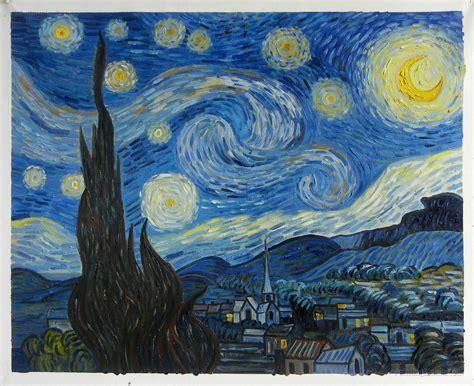 Starry Night Van Gogh Original Painting Wwwpixsharkcom