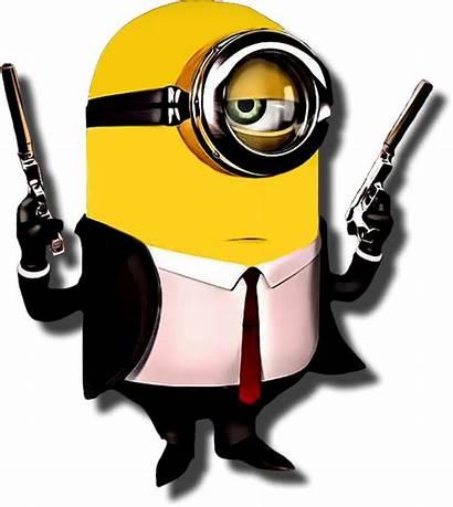 Minion Clipart Hitman Minions Clip Cliparts Characters