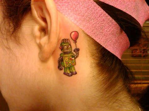 cool   ear tattoo designs sortra