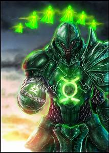 Medieval Green Lantern by uchiharuin on DeviantArt