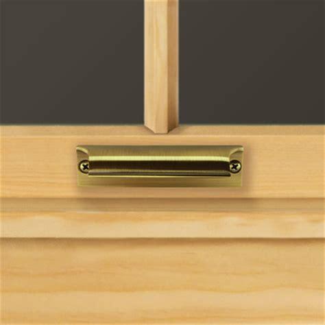 antique brass sash hand lift  andersen windows patio doors lifts handles andersen