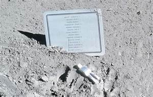 Memorial to Fallen Astronauts on the Moon - Our Planet