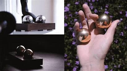 Stress Therapy Brass Desk Metal Luxury Specter