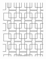 Coloring Adult Printable Complex Adultcoloringpages Square sketch template