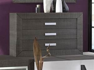 Commode Grise Anthracite Lima LesTendancesfr