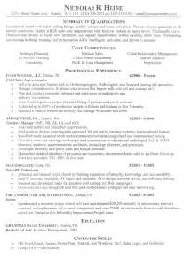 Can You Use Acronyms In A Resume by Proffesional Resume Resume Cv Exle Template