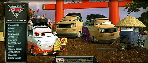 Cars Official Site by Disney Pixar Cars 2 Cars Characters Introduction Okuni