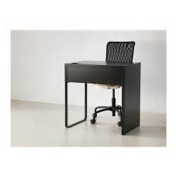 micke desk black brown 73x50 cm ikea