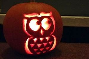 Easy, And, Cute, Owl, Pumpkin, Carving, Templates, Ideas, 2017