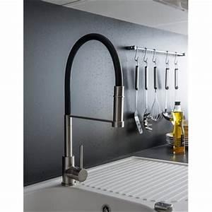 Evier Inox Brossé : robinet douchette extractible mitigeur pour vier de ~ Premium-room.com Idées de Décoration