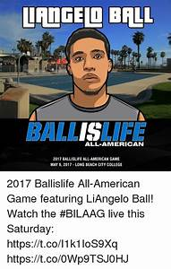 LANGELI BALL ALL-AMERICAN 2017 BALLISLIFE ALL-AMERICAN ...