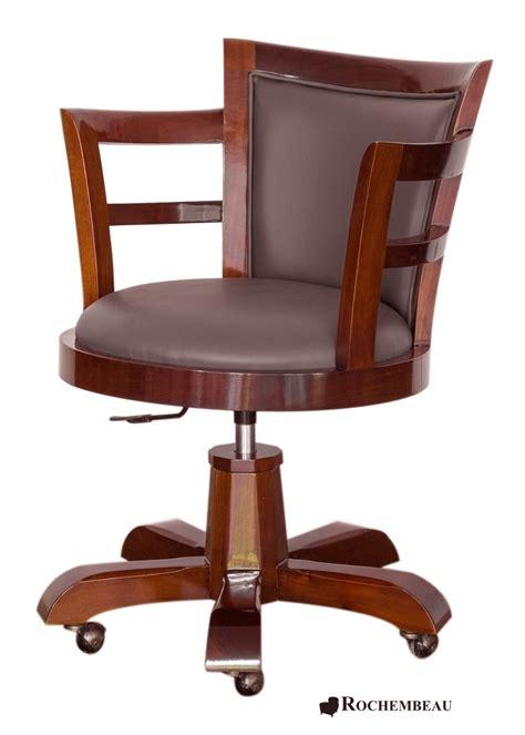 le de bureau en bois fauteuil bureau bois