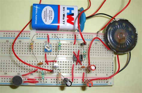 simple audio amplifier circuit diagram   timer ic