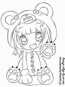 15 Pics Of Cute Chibi People Coloring Pages - Cute Anime ...